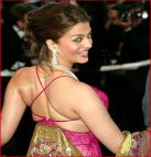 Aishwarya Rai Sexy Back Thread Dress